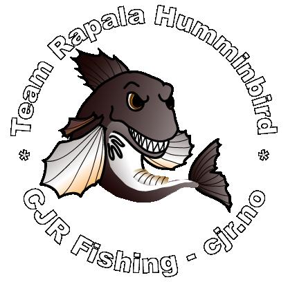 CJR Fishing - Team Rapala Humminbird logo